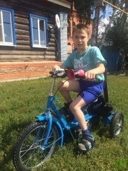 Камалов Ильсаф на велотренажере Ангел-Соло 3