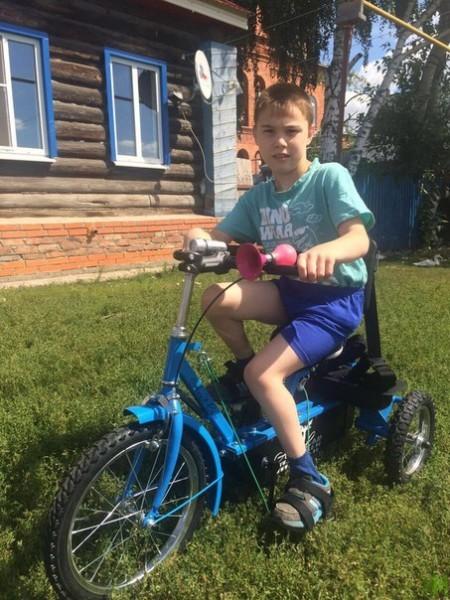 Камалов Ильсаф на велосипеде 3