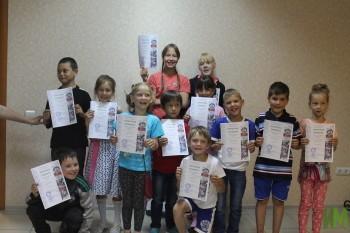 Дети-сироты из Нурлатского детского дома