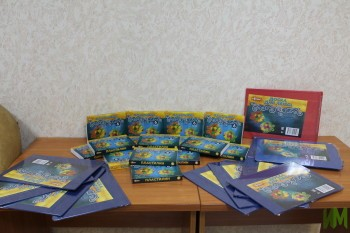 Пластилин и доски для лепки - подарок от Лейсан