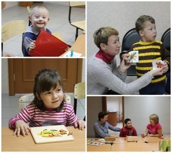 Творческие занятия в детской комнате
