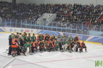товарищеский матч по хоккею между сборной Республики Татарстан и легендами американского клуба «Филадельфия Флайерс»