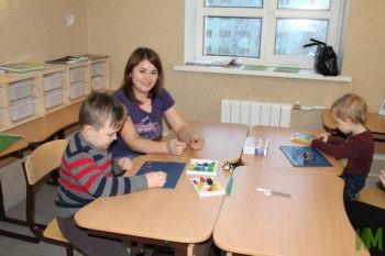 Занятие в детской комнате