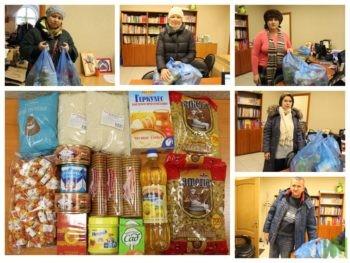 """У нас снова радость! Благодаря спонсорам благотворительного фонда """"Исполнение мечты"""" в семьи с особенными детьми отправилось 100 продуктовых наборов."""