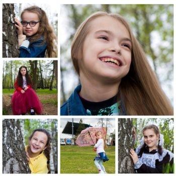 Весенняя фотосессия в Парке Горького