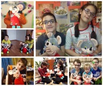 100 мышат – новогодние подарки для подопечных