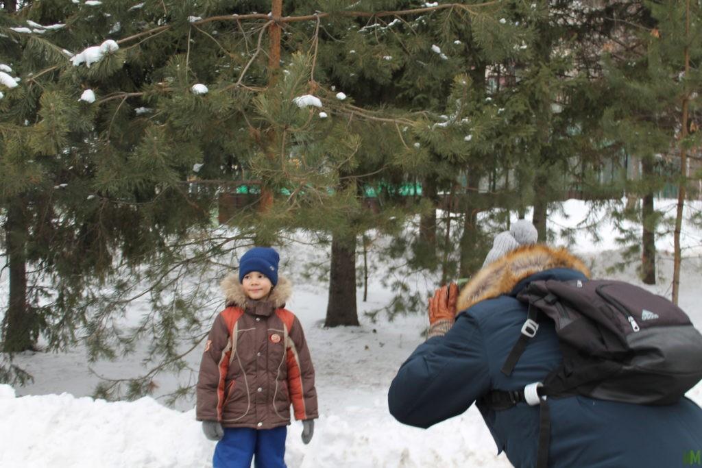 Веселая фотосессия в парке им. Горького