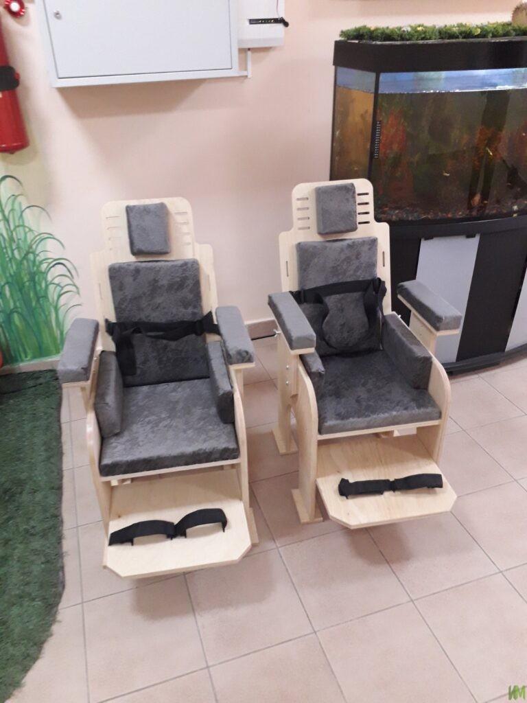 6 стульев «Мечта» для детского дома «Родник»