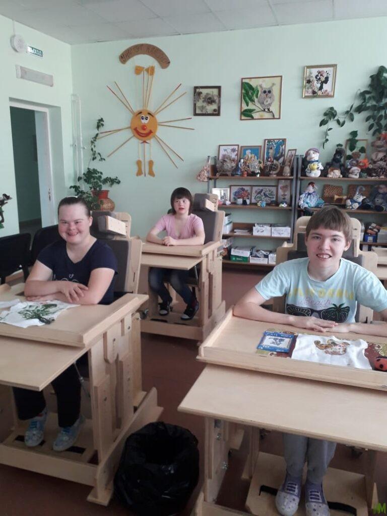 Специализированные стулья для Сергиевского пансионата