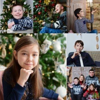 Новогодняя фотосессия от Олега Каракулова