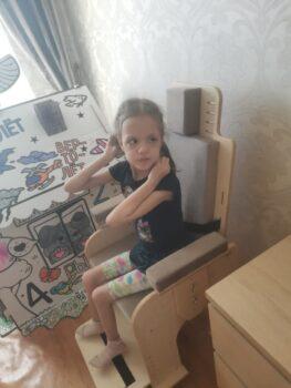 Бикбулатова Ясмина со стулом