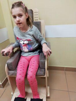 """Воронкова Анна и специализированный стул """"Мечта"""""""