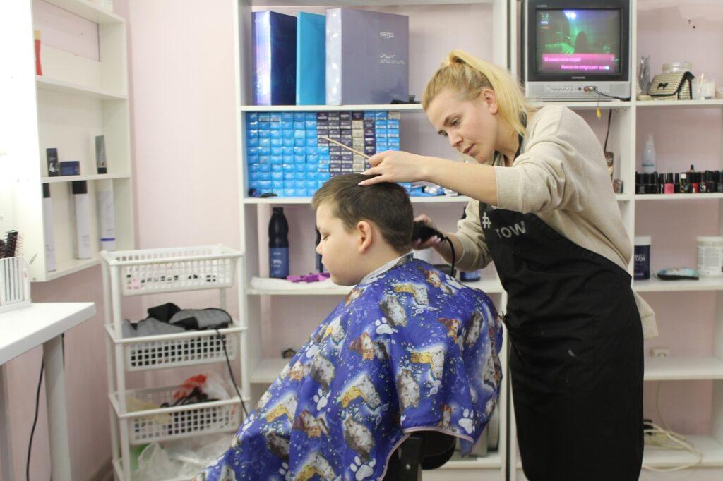 Новые стрижки от парикмахерской «Близнецы»
