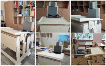 Парты и стулья для чебоксарской школы-интернат