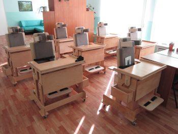 Школа-интернат «Улыбка» получила 7 стульев «Мечта»