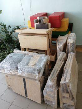 Специализированное оборудование для двух школ из Тамбовской области